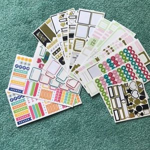 Beautiful planner stickers!